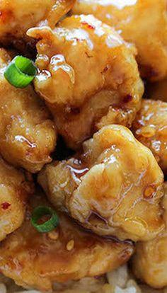 Asian Honey Chicken