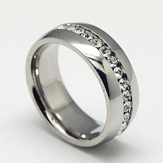 PandaHall Jewelry—316L Stainless Steel Cubic Zirconia Finger Rings Grade AAA | PandaHall Beads Jewelry Blog
