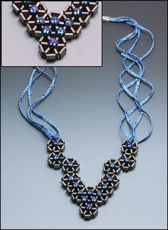 Making tila wheels -- nice how-to from Whim Beads ~ Seed Bead Tutorials
