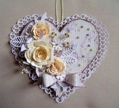 Marie curie fundraising..ordered MDF heart. | docrafts.com
