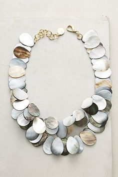 Irridescent Shell Necklace