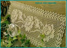 PORTAL OF crochets: TRAILS OF CROCHET FOR TABLES
