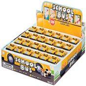Mini Pull Back School Bus, Display Of 24 Of 24 TS-7853 Toysmith Toys | K12 School Supplies | Teacher Supplies