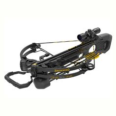 Browning Crossbows Model 161 Crossbow Package with 4x32mm Scope, Black…