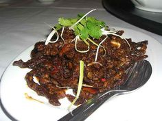 Crispy Ginger Beef, hoping this is like the crispy beef they used to have at cheesecake factory