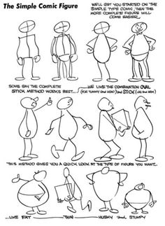 how to draw comic book characters easy