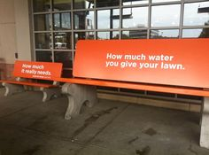 Denver Water front-of-store at Whole Foods