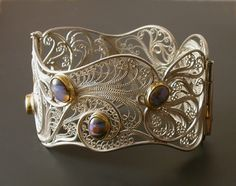 Filigree to the max! I hope to be able to do something like this by the end of this class.