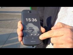 The Yota Phone 2 Is A Double Sided Cell Phone - YouTube