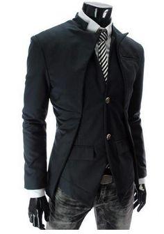 NEW! Men's Trend Setting Lapel Blazer - Hot100Fashions