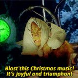 "Blast this Christmas music! Its joyful and triumphant - the 12 most relatable quotes from ""The Grinch"" Christmas Quotes, Christmas Music, Christmas Movies, Christmas Humor, Christmas Time, Christmas Specials, Xmas, Christmas Shirts, Family Christmas"