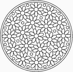 Paper Embroidery Patterns All Things Parchment Craft: A Few Parchment Craft Mandala Patterns Mandala Art, Mandala Design, Mandala Pattern, Zentangle Patterns, Mosaic Patterns, Craft Patterns, Zentangles, Doodle Patterns, Clothes Patterns