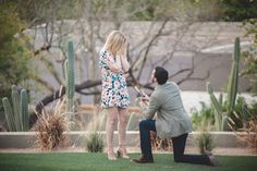 This is such a romantic marriage proposal! He took her on a relaxing resort getaway, and her reaction when he proposed is just too sweet.