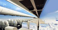 """La tête dans les nuages ! Jamais cette expression n'aura été aussi vraie grâce à cet avion futuriste """"transparent"""""""