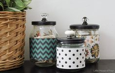 After: Apothecary Jars