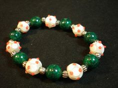 easy bracelet craft! Miami Hurricanes | University of Miami | #theU