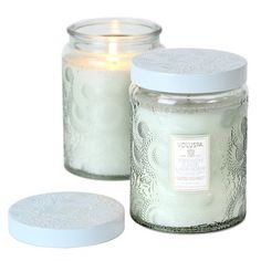 Voluspa French Cade and Lavender Large Glass Jar Candle 100 Hour 16 oz *** You can find more details by visiting the image link.