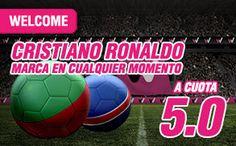 el forero jrvm y todos los bonos de deportes: wanabet supercuota 5 Ronaldo marcara Portugal vs I...