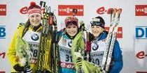 Biathlon : Marie-Laure Brunet débute par un podium