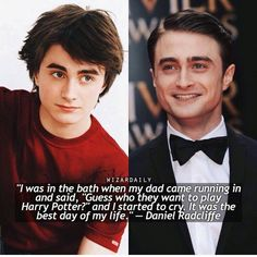 Funny Harry Potter Quotes Daniel Radcliffe 53 Ideas For 2019 Harry Potter World, Harry Potter Puns, Theme Harry Potter, Harry Potter Wizard, Harry Potter Characters, Harry Potter Universal, Who Plays Harry Potter, Daniel Radcliffe Harry Potter, Harry James Potter