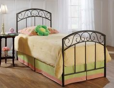 Wendell Metal Panel Bed