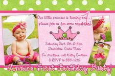 samples of birthday invitation cards