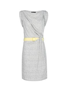 MANGO - Vestido nudo lateral