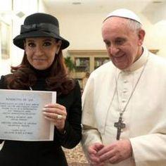 Mensaje del Papa a la Presidenta