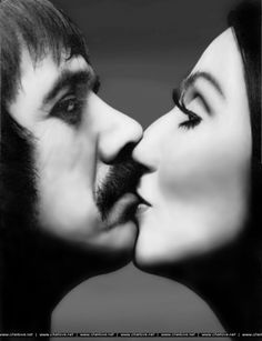 richard avedon, sonny and cher