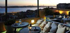 Terraço, Bairro Alto Hotel, Lisboa