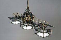 FRANK BUCHWALD MACHINE LIGHTS | Exclusive design of lamps and light objects
