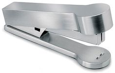 """Stapler - Stainless Steel (stainless steel) (2.3""""H x 5.25""""W x 3""""D)"""