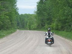 how to ride your street motorcycle in gravel riding