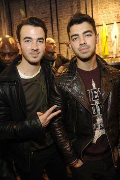 The Jonas Brothers attend Porsche Design SoHo store opening