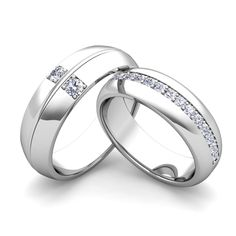 build comfort fit wedding bands for him and her with diamonds and gemstones build your - Build Your Own Wedding Ring