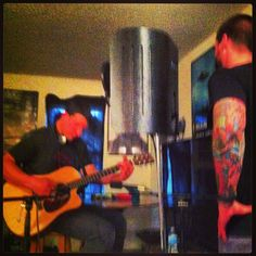 Ty and Austin recording in the Bat Cave! Gas Pumps, Cave, Caves