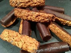 Fingers aux flocons d'avoine - The Best For Dinner Healthy Recipes Easy No Bake Cookies, Easy Cookie Recipes, Healthy Cookies, Snack Recipes, Breakfast Recipes, Dairy Recipes, Free Recipes, Easy Snacks, Healthy Snacks