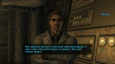 Fallout: New Vegas will always remain one of the best written RPGs of all time