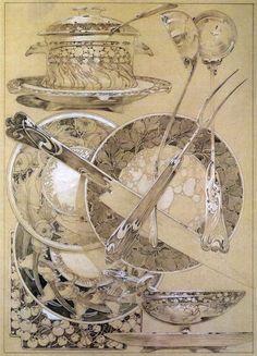 1902 'Documents Décoratifs Plate 59  © Alphonse Mucha