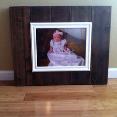 Love it rustic frame