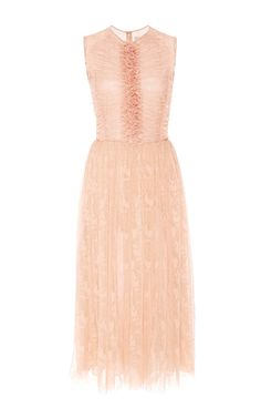 Abstract Houndstooth Lace Sleeveless Dress by JASON WU for Preorder on Moda Operandi