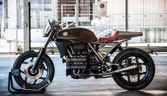 Bmw Cafe Racer, Estilo Cafe Racer, Moto Cafe, Cafe Bike, Cafe Racer Motorcycle, Bobber Custom, Custom Bikes, K100 Bmw, Brat Cafe