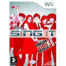 Disney Sing It: High School Musical 3 Senior Year PAL for Nintendo Wii from Disney (RVL-REYP-UKV)