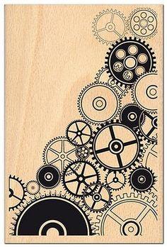 Engrenage Steampunk Drawing, Art Steampunk, Pattern Art, Pattern Design, Art Patterns, Steampunk Patterns, Illustration Design Graphique, Tangle Art, Art Journal Techniques