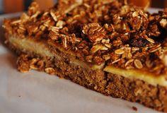 Torta integral de banana. Veja como fazer essa delícia: http://www.casadevalentina.com.br/blog/detalhes/torta-integral-de-banana-3123 #receita #recipes #torta #pie #casadevalentina