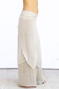 1fd122ac2945d1 ORLY rok katoenen hennep rok lange rok handgemaakte rok