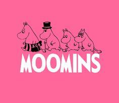 MOOMINS Style Girls T-Shirt Moomintroll von ClashCityClobber