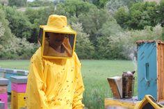 Serena Alunni, apicoltrice biologica nelle Marche