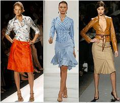 Modistería Básica: marzo 2009........faldas y vestidos que nos realzan .....sugerencias