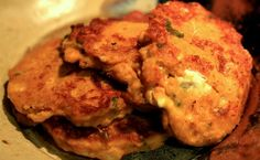 Pumpkin, goat cheese & sage fritters.  Try this with paleo friendly flours, hopefully it'll work!